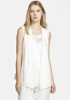 Lafayette 148 New York 'Yoko' Sleeveless Jacket