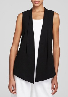 Lafayette 148 New York Yoko Zip Trim Vest - Bloomingdale's Exclusive