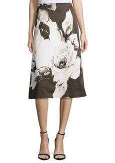 Lafayette 148 New York Zarita Floral-Print Skirt