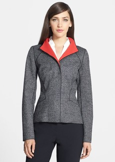 Lafayette 148 New York 'Zena - Bravado' Bonded Cloth Jacket