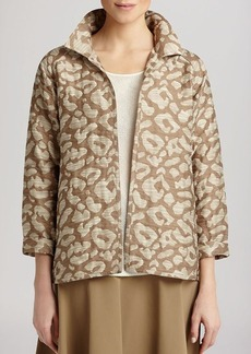 Lafayette 148 New York Zineb Animal Print Jacket