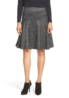 Lafayette 148 New York 'Keana' Tweed Drop Yoke Skirt
