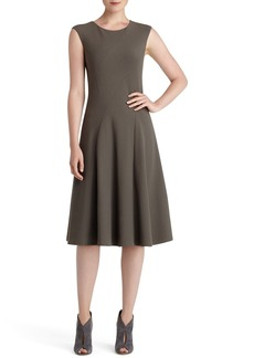 Lafayette 148 New York Milano Knit Fit & Flare Dress
