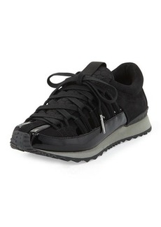 L.A.M.B. Bennie Patent Cutout Sneaker