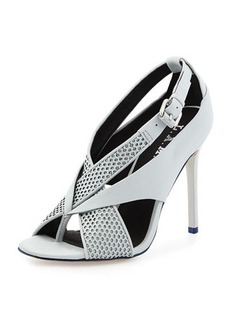 L.A.M.B. Beverlee Perforated Sandal