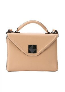 L.A.M.B. camel leather 'Elin' convertible shoulder bag
