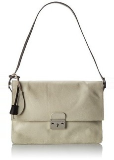 L.A.M.B. Cinda Shoulder Bag,Cream,One Size