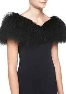 Lamb Collar, Black   Lamb Collar, Black