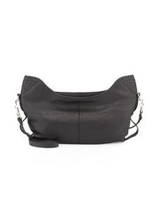 L.A.M.B. Dima Leather Hobo Bag, Black