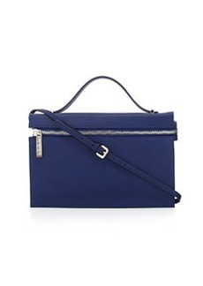 L.A.M.B. Dolley Leather Shoulder Bag, Indigo