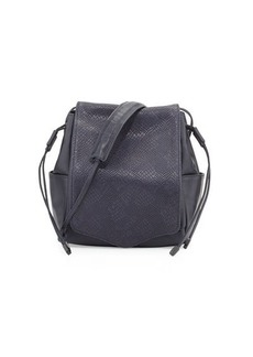 L.A.M.B. Edria Leather Bucket Bag