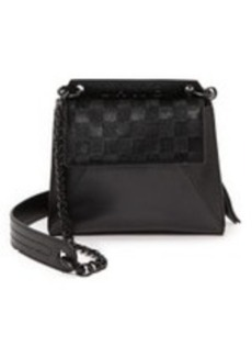 L.A.M.B. Ellis Cross Body Bag with Haircalf