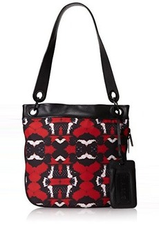 L.A.M.B. Enola Shoulder Bag,Red,One Size