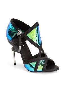 L.A.M.B. 'Excite' Peep Toe Sandal (Women)