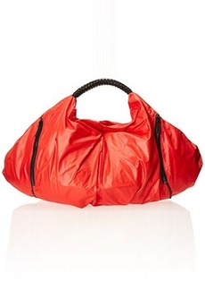 L.A.M.B. Fae Nylon Shoulder Bag, Red, One Size