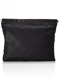 L.A.M.B. Fallon 3 Clutch, Black, One Size