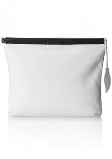 L.A.M.B. Fallon Clutch White