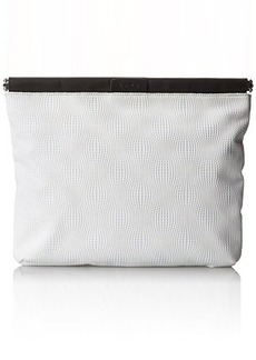L.A.M.B. Fallon3 Clutch, White, One Size