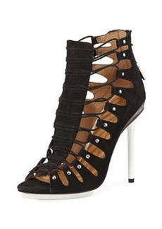 L.A.M.B. Falyn Gladiator Sandal, Black