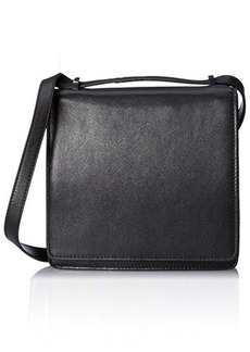 L.A.M.B. Freya Sleek Cross Body Bag, Black, One Size