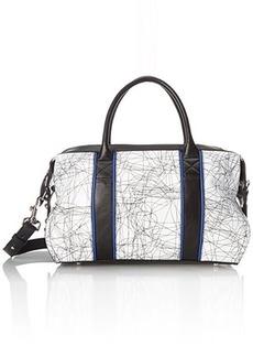 L.A.M.B. Gigi 2 Top Handle Bag, Grey/Multi, One Size