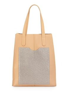L.A.M.B. Gillian Leather Tote Bag