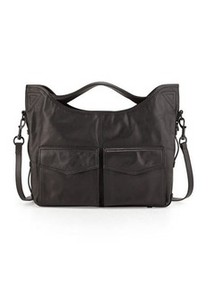 L.A.M.B. Glad Leather Shoulder Bag