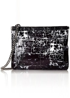 L.A.M.B. Glenda 2 Cross Body Bag, Black/White, One Size