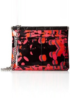 L.A.M.B. Glenda 2 Cross Body Bag, Pink/Black, One Size