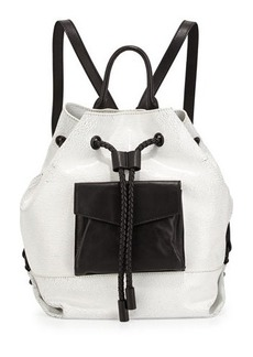 L.A.M.B. Gracie Colorblock Leather Backpack
