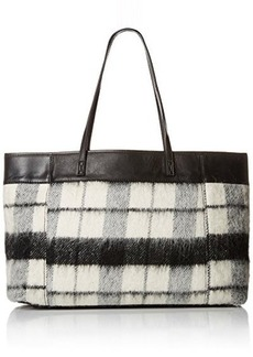 L.A.M.B. Halena Flannel Tote Shoulder Bag, Flannel, One Size