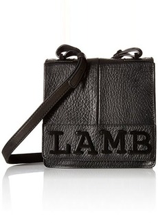 L.A.M.B. Halo Cross Body Bag, Black, One Size