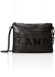 L.A.M.B. Hayln Convertible Cross Body Bag, Black, One Size