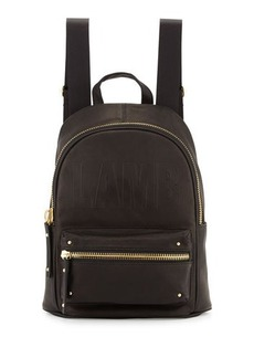 L.A.M.B. Iban Logo-Embossed Backpack
