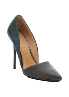 L.A.M.B. ice blue pony leather 'Trina' d'orsay stiletto pumps
