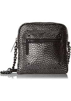 L.A.M.B. Ice Messenger Bag, Black Combo, One Size