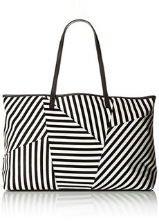 L.A.M.B. Idelia Tote Bag, Black/White, One Size