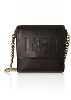 L.A.M.B. Ife Shoulder Bag, Black, One Size