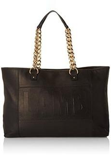 L.A.M.B. Ignacia Tote Bag, Black, One Size