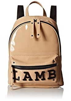 L.A.M.B. Imen Fashion Backpack, Natural Patent, One Size