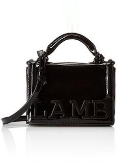 L.A.M.B. Inna Convertible Cross Body Bag, Black, One Size
