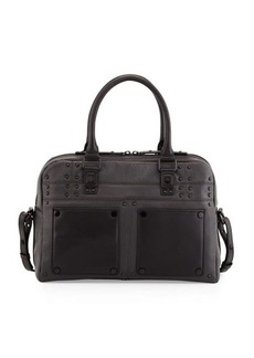 L.A.M.B. Isla Leather Satchel Bag