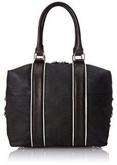 L.A.M.B. Jessica Top Handle Bag, Black, One Size