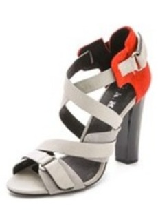 L.A.M.B. Korry Haircalf Sandals