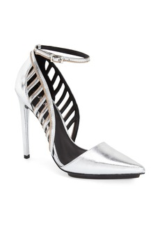 L.A.M.B. 'Playful' Ankle Strap Pump (Women)