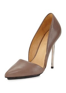 L.A.M.B. Trina Leather d'Orsday Pump, Taupe