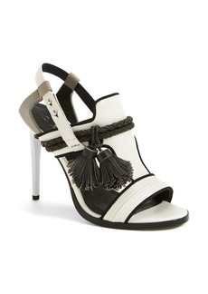 L.A.M.B. 'Voice' Leather T-Strap Sandal (Women)