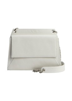 L.A.M.B. white leather dual sided 'Chloe II' shoulder bag