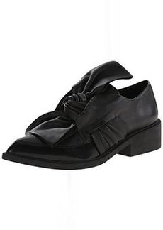 L.A.M.B. Women's Embark Slip-On Loafer, Black, 6.5 M US