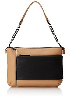 L.A.M.B. Women's Gidget Shoulder Bag, Natural, One Size